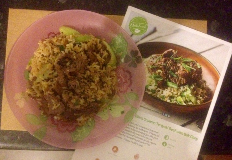 My Second HelloFresh Meal Review