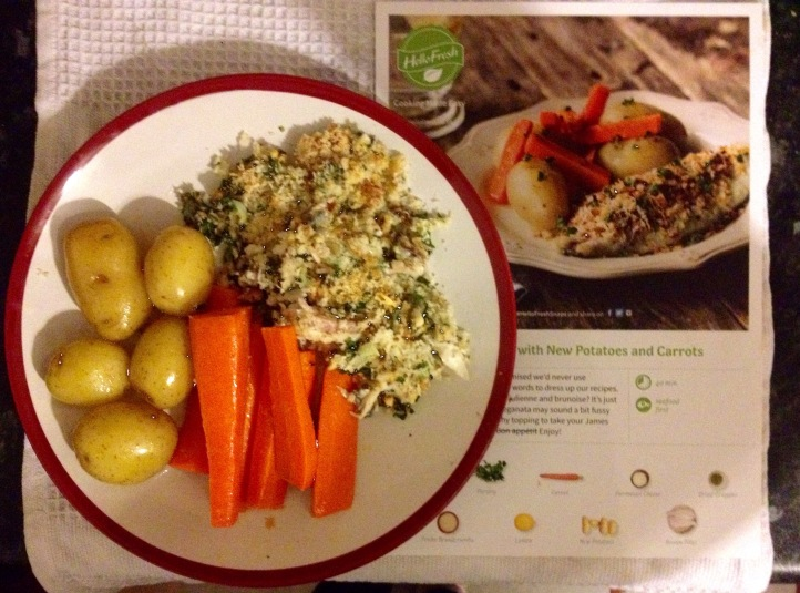 My First HelloFresh Meal Review