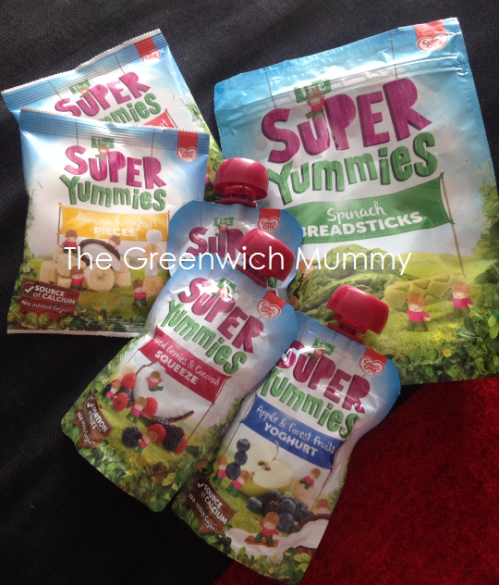 The Greenwich Mummy: Super Yummies Toddler Snacks Review