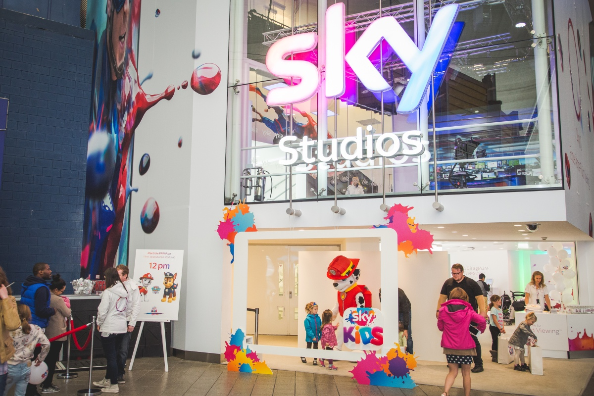 Family Days Out: Meeting The Paw Patrol Pups at Sky Studios At The O2