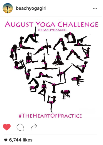The Greenwich Mummy Blog - Yoga Challenge #Theheartofpractice