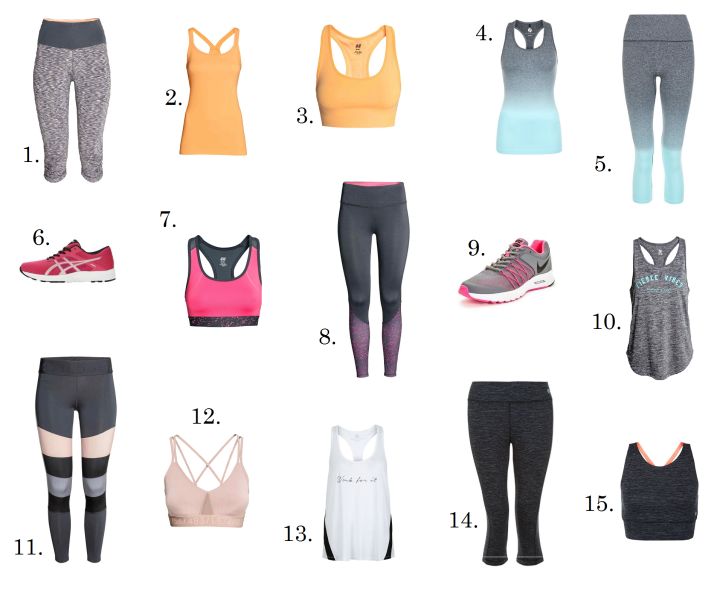 The Greenwich Mummy Blog | My Summer Sportswear Wishlist