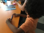 Space activity: making plasticine moon craters