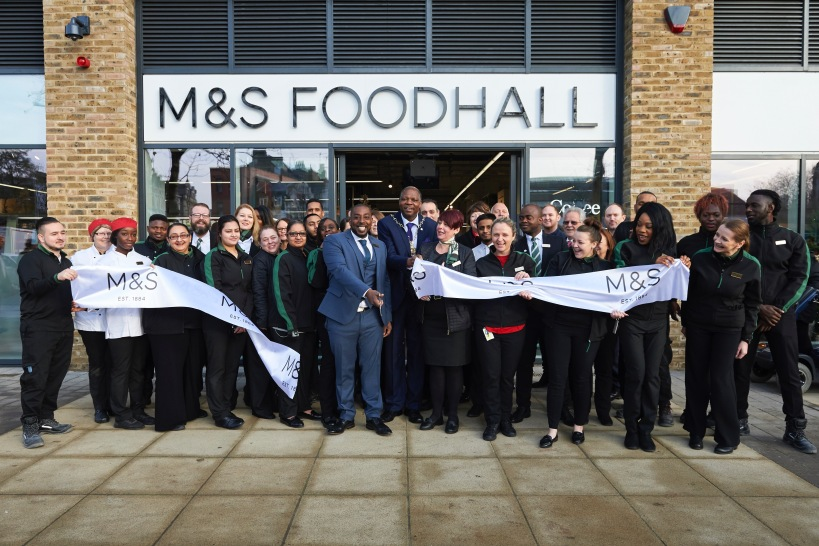 The Greenwich Mummy Blog - Marks and Spencer Woolwich Reopens