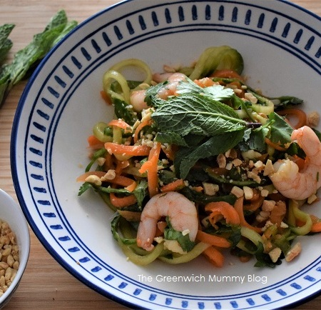 The Greenwich Mummy Blog | Easy Prawn Pad Thai Salad Recipe