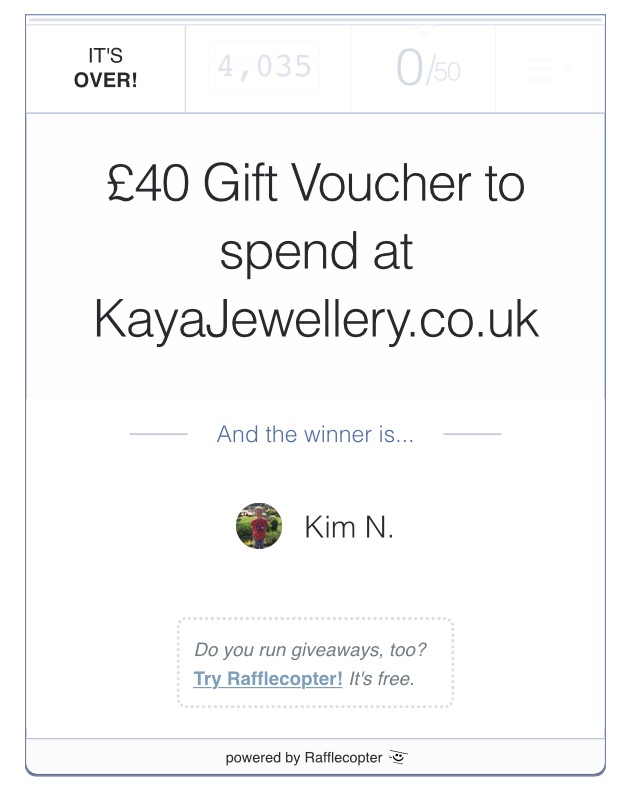 The Greenwich Mummy Blog - Kaya Jewellery Giveaway