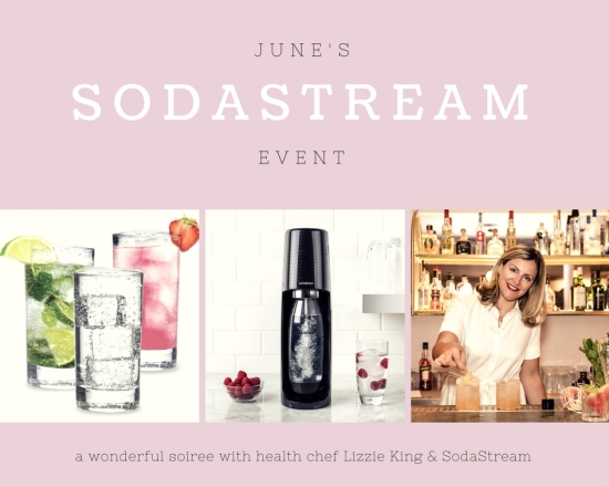 The Greenwich Mummy Blog | Lizzie King x SodaStream