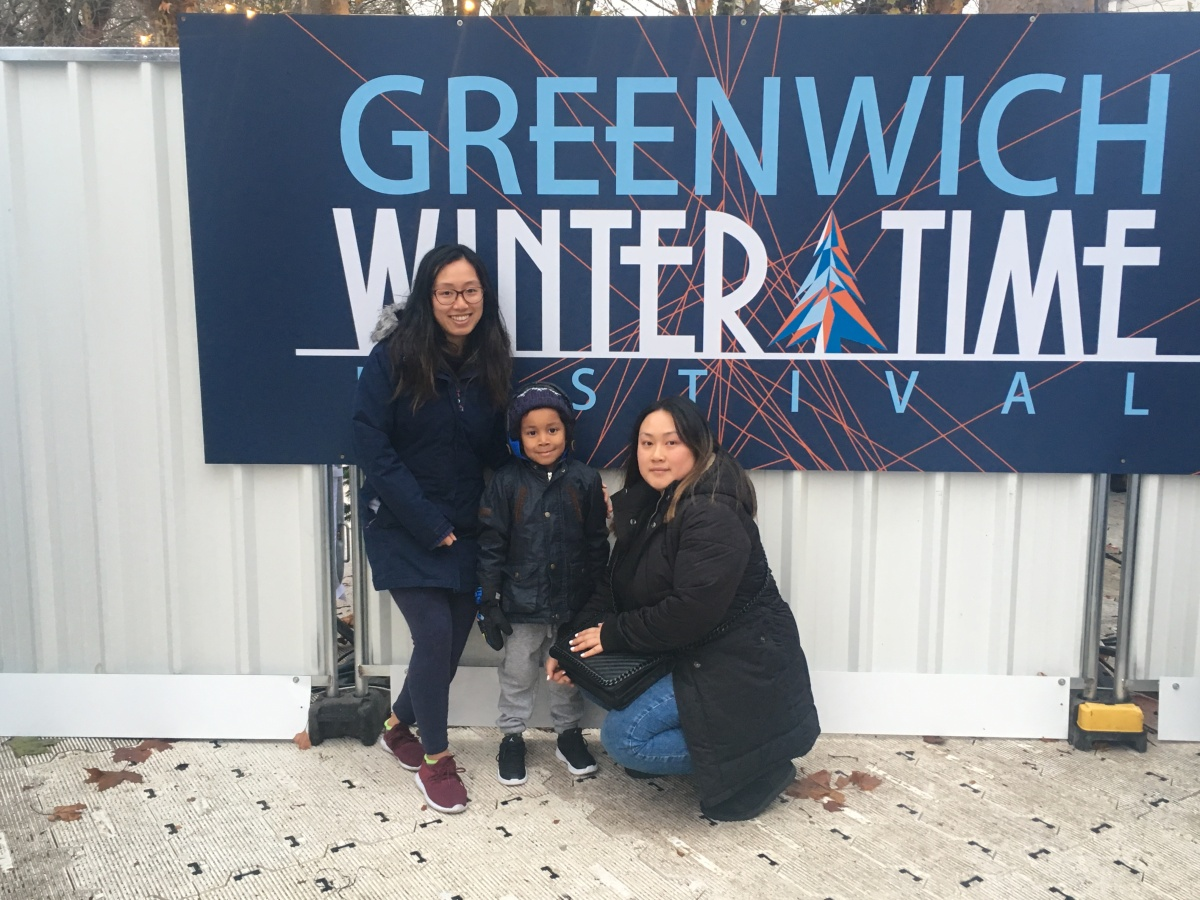 Review: Our family day out at the Greenwich Wintertime Festival