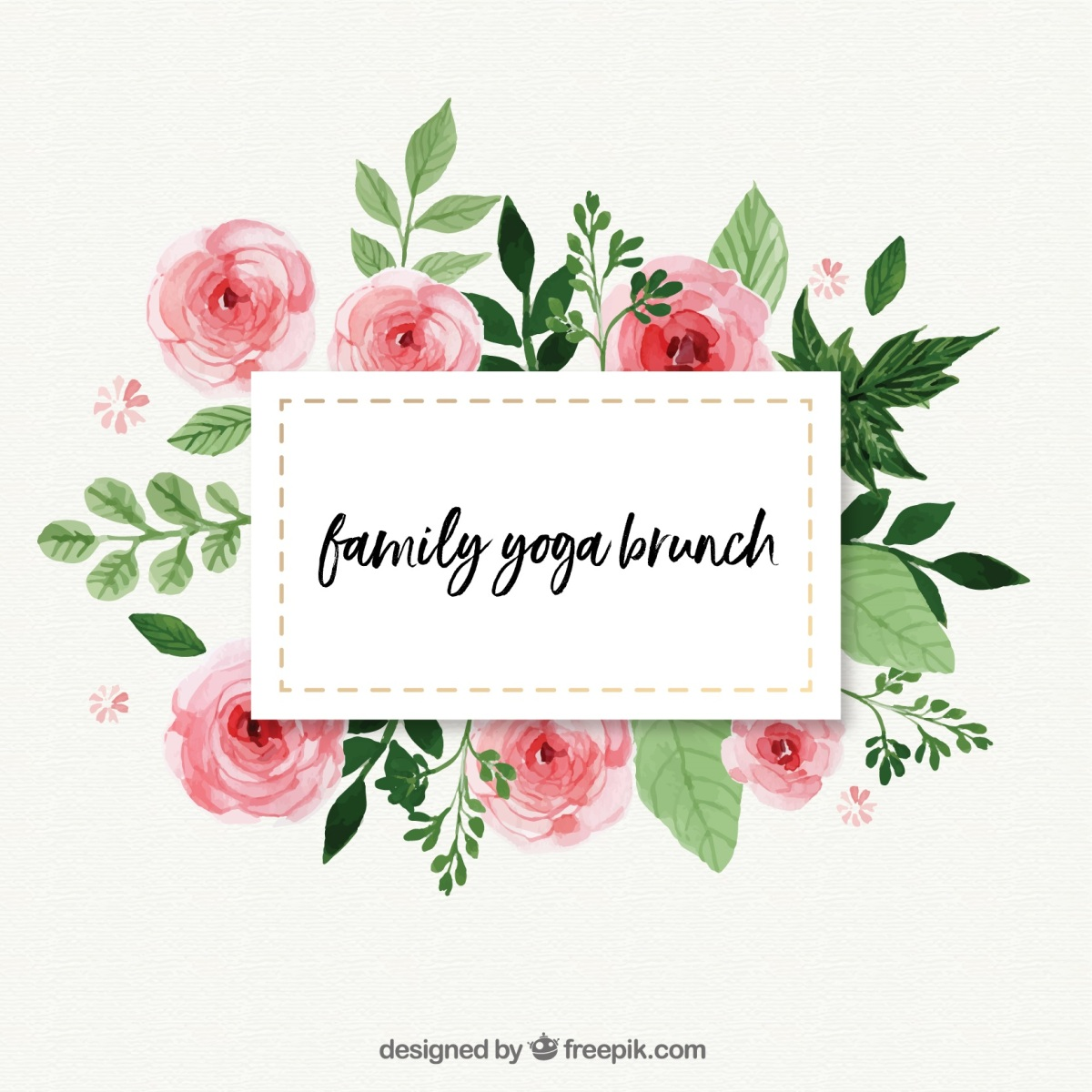 Kids & Family Yoga Brunch at The Canvas Cafe: Saturday 14th April 2018