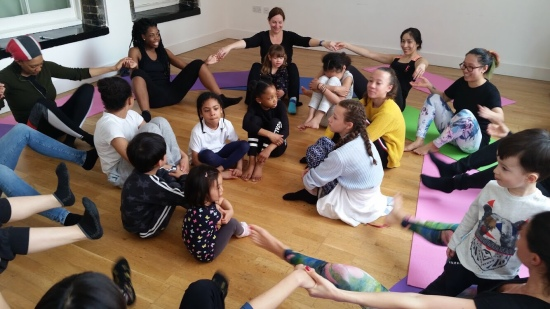 The Greenwich Mummy | Family Yoga in Greenwich with Manny Ngo Yoga