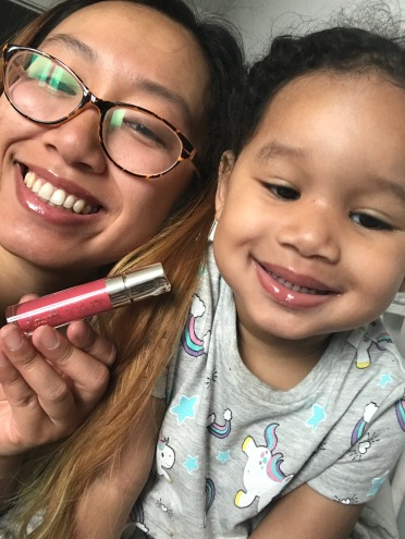 Baby Girl and I love the Doucce lipgloss!