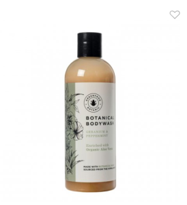 Greenfrog Botanics body wash
