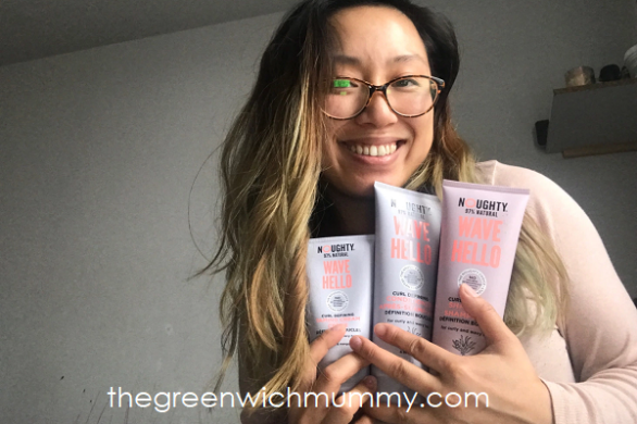 The Greenwich Mummy Blog - Noughty Haircare Review