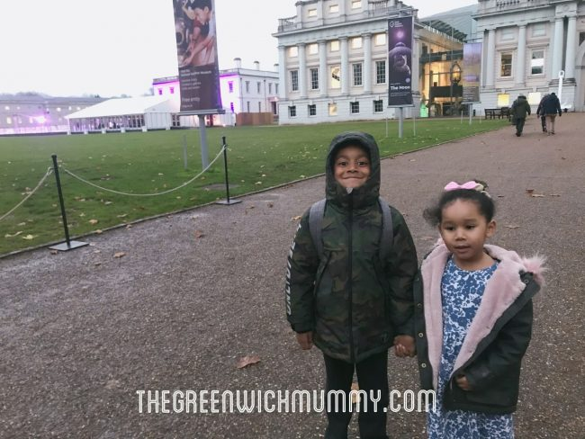 The Greenwich Mummy Blog - Ice skating in Greenwich at the Queen's House ice rink