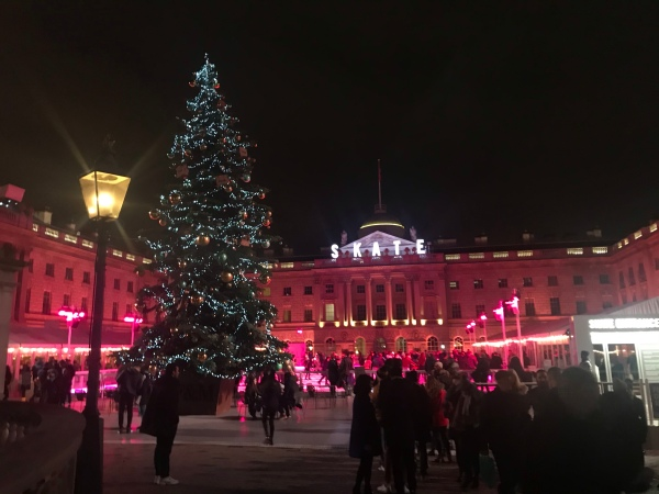 The Greenwich Mummy | Top 5 Magical Outdoor ice skating rinks in London