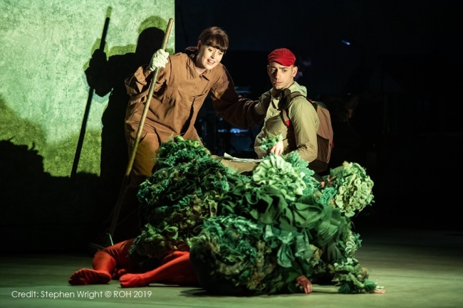 The Greenwich Mummy Blog | The Lost Thing at Royal Opera House Review