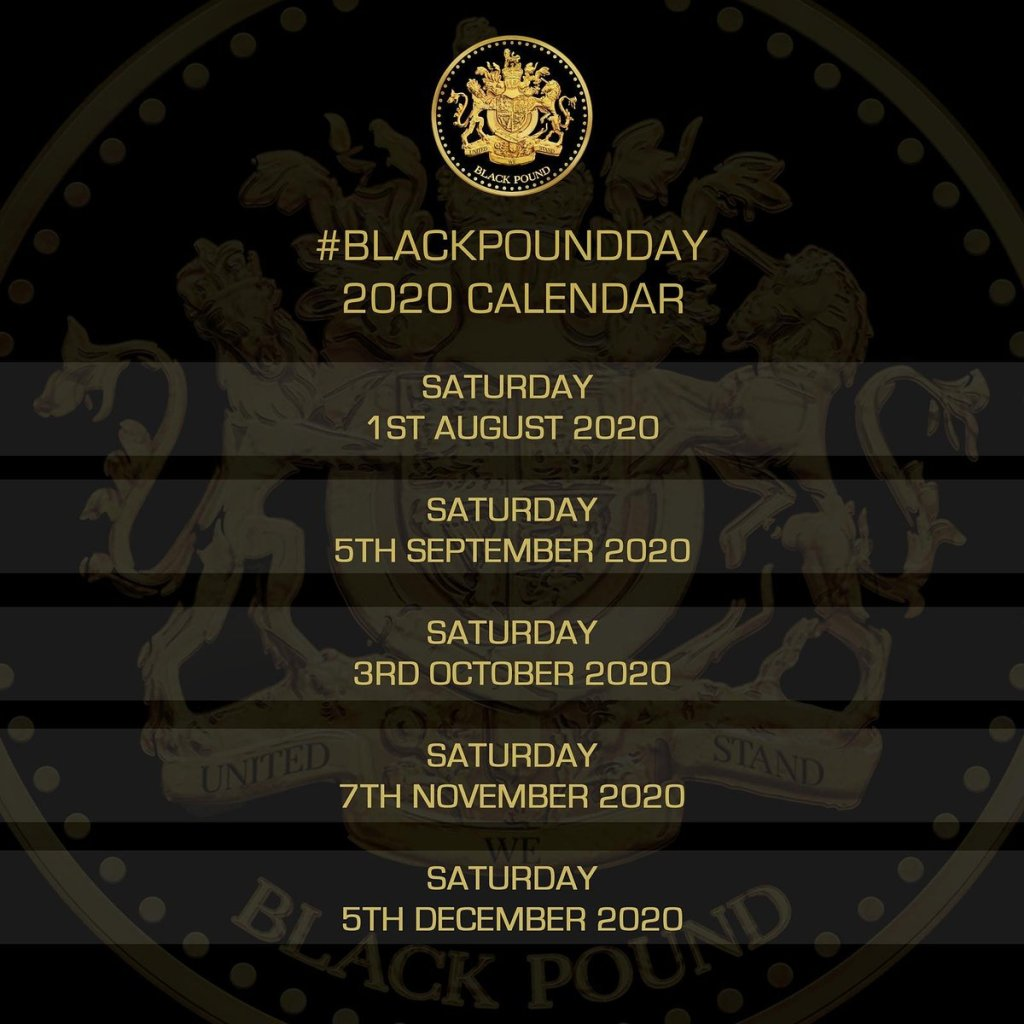Black Pound Day September 2020