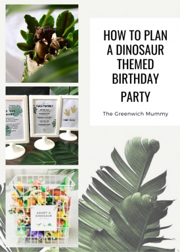 The Greenwich Mummy Blog | How To Plan a Dinosaur Themed Birthday Party
