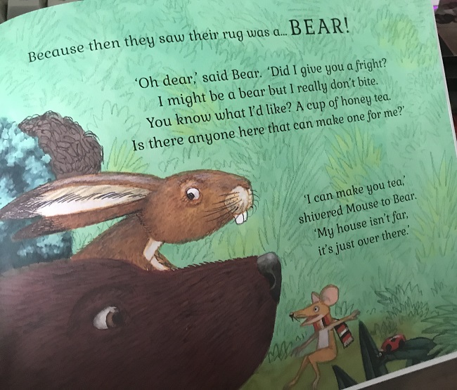 The Rug Bear children's book review | The Greenwich Mummy Blog
