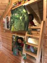 Whimsical bunk beds for the kids
