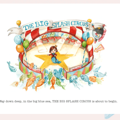 The Wandering Mother Blog | The Big Splash Circus Book Review