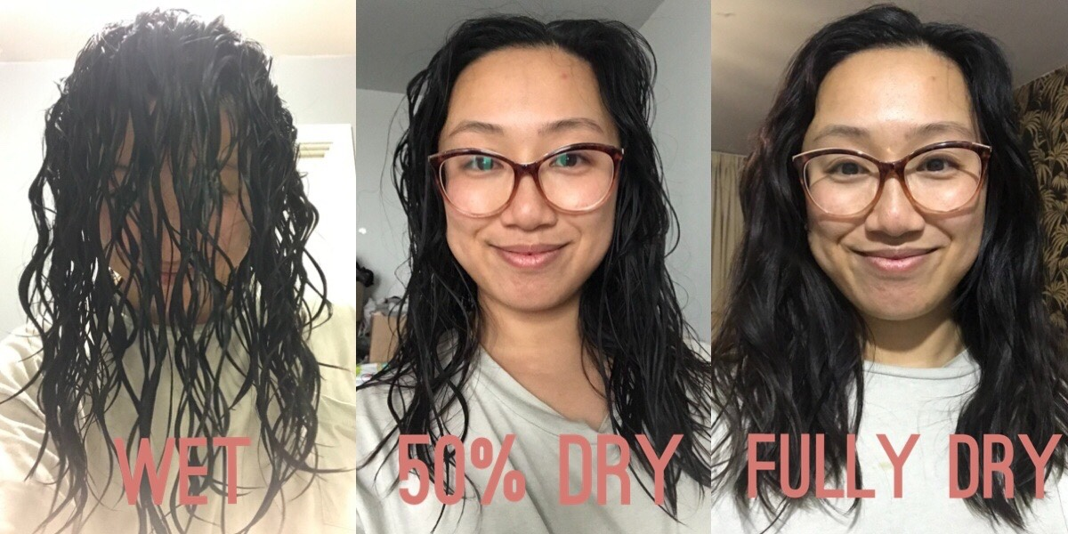 The Wandering Mother Blog | Wavy Hair - Curly Girl Method: Wavy hair journey update