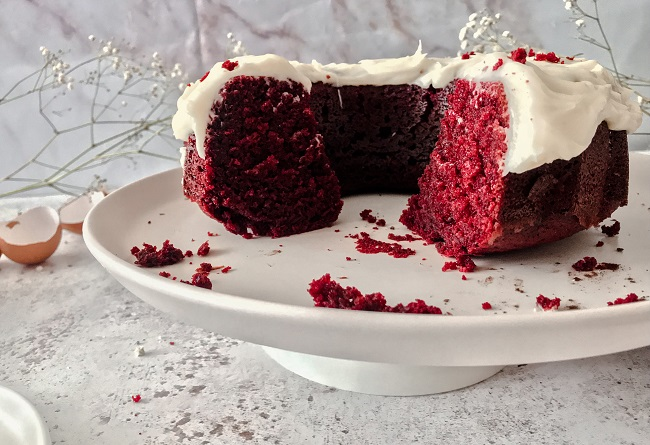 Red Velvet Cake Recipe - The Wandering Mother Blog