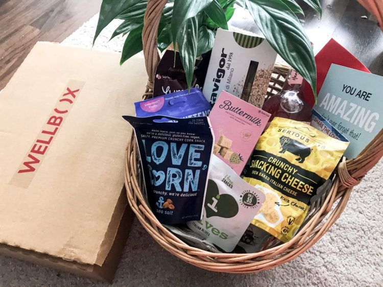 The Wandering Mother Blog | WellBox Entice Hamper Food Gift Review