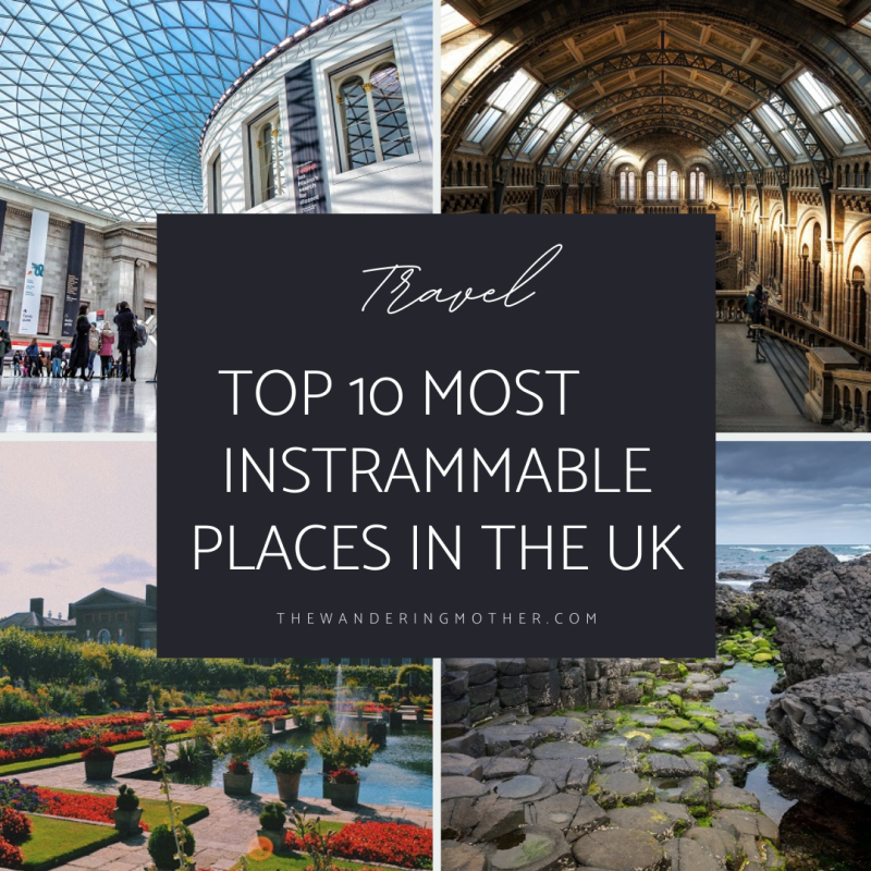 The Wandering Mother   Top 10 Instagrammable Places in UK